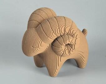 Cute Sheep  - DIY Cardboard Craft