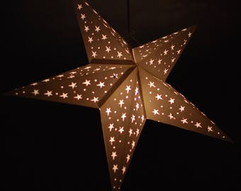 10 x  Star lanterns