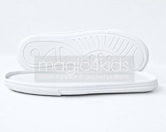Rubber soles with insoles for kids shoes, soles for toddlers, soles for kids shoes