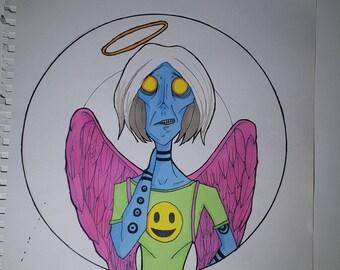 Strange Adam - Concept art