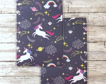 Unicorn Mini Happy Planner Cover
