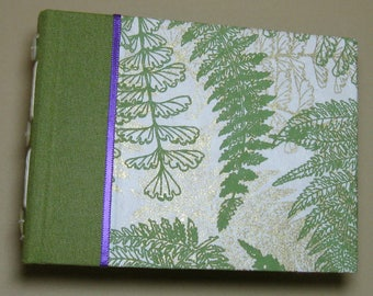 Journal Watercolor Sketchbook fabric cover Long Stitch binding