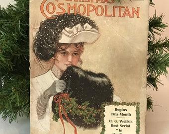 Antique Magazine: Christmas Cosmopolitan 1905