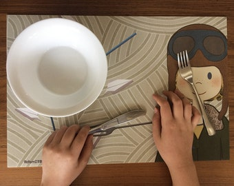 Boys' Placemat-Rick: Perfect for Travel!