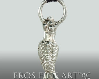 Little Mermaid - exclusiver, erotischer Silberanhänger -  Meerjungfrau - Silberanhänger - Geschenk - Liebe - Schmuck - erotic jewelry