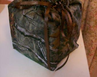 Camo Tissue Box/Toilet Paper Cover