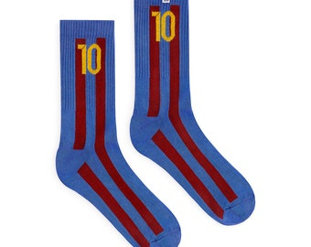 Football Fan Socks - Barcelona