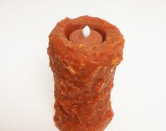 Primitive Timer Pillar, Timer Candles, Halloween Decor
