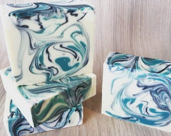 Eucalyptus Wave Cold Process Soap/ 100 % Natural Soap