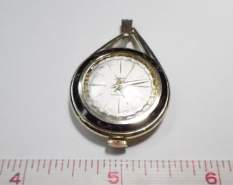 For Parts Or Repair - Vintage Sheffield Pendant Watch - Used - Non Working
