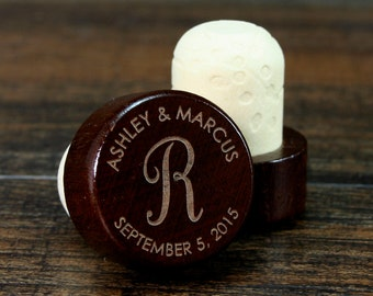 Personalized Wine Stopper, Engraved Wedding Favor, Custom Wedding Gift, Wine Cork, Wedding Gift Ideas, Customized Wine Stopper, Wine Corks