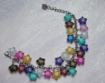 Decora, Fairy kei shooting star bracelet. Kawaii