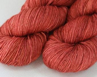 Cinnabar - Sarmatia BFL Silk Cashmere sock yarn - 100 g