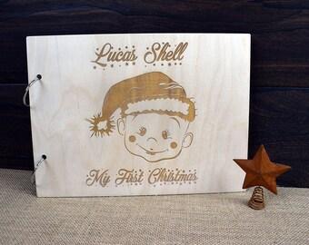 My First Christmas Scrapbook