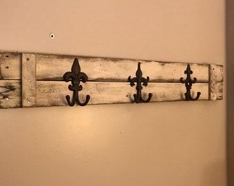 Custom Coat Wall Rack