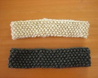 Knit Headband Pair Vegan