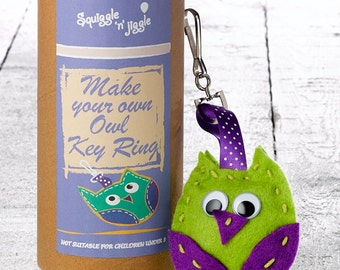 Make Your Own Owl Key Ring Kit
