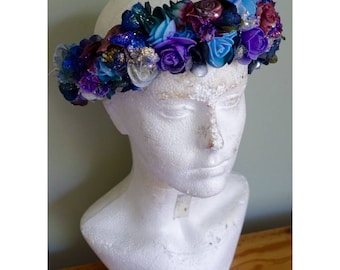 Dark Romance Flower Headband