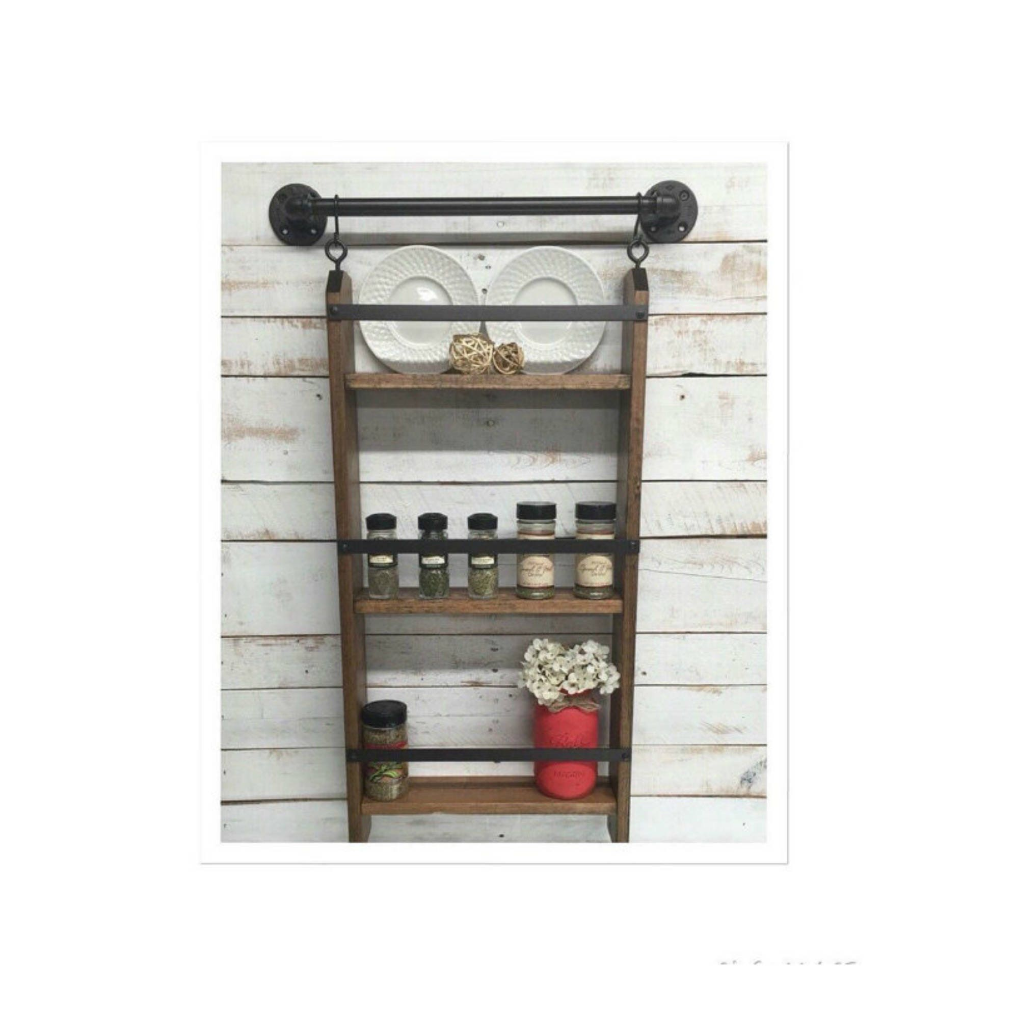 Shelves For Kitchen Wall: Wood Kitchen Shelf Kitchen Shelves Kitchen Wall Shelf