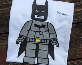 Batman lego shirt