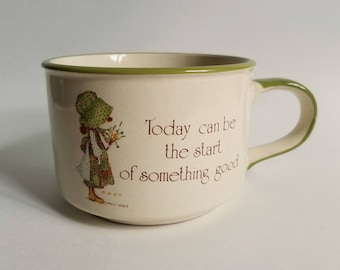 Vintage Holly Hobbie Tea/Coffee/Soup Mug, 1980, Country Living