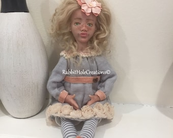 OOAK doll - Cathriona art doll