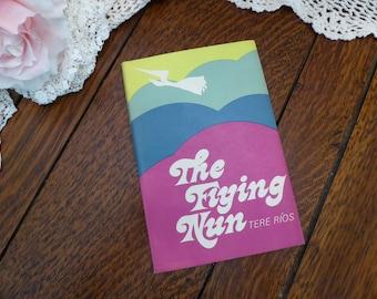 Flying Nun 1965 Hardback Dustcover, Tere Rios The Flying Nun 1965