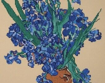 Van Gogh, Irise Vase LB96046