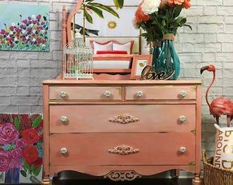 SOLD- Vintage Dresser