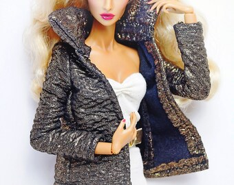 clothes for Fashion Royalty dolls (jacket): Cavone