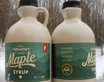 2018 Vermont Maple Syrup-Quart