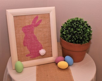 Spring Bunny Silhouettes