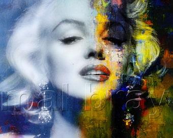 Marilyn, Marilyn Monroe, print, poster