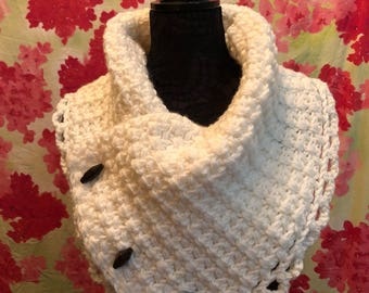 Button Scarf/Cowl