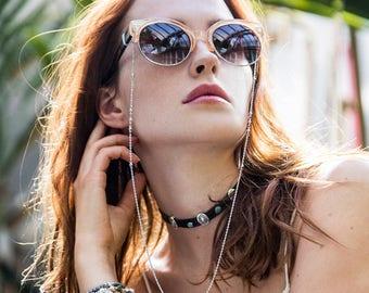 Bohemian gypsy bracelets trio - sterling silver plated beads - turquoise, quartz and labradorite stones - festival beaded bracelet set