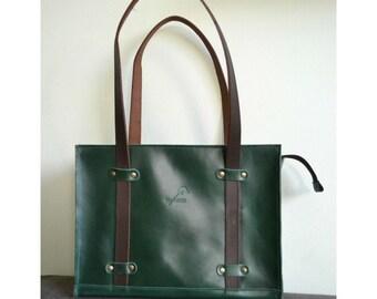 Womens leather bag/everyday leather bag/gift for her/leather shoulder bag/genuine leather handbag/other colour/handmade leather bag/