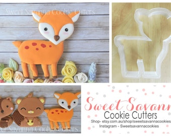 Deer Cookie Cutters- Woodlands theme cookie cutter