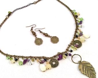"18"" BoHo Zen Charm Necklace"