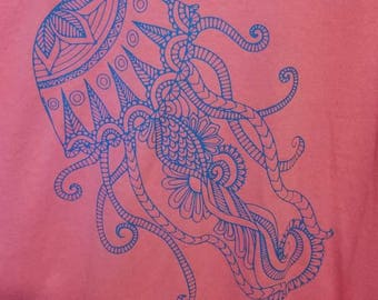 Jellyfish Mandala