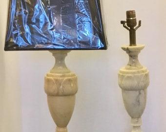 Italian Alabaster Lamps