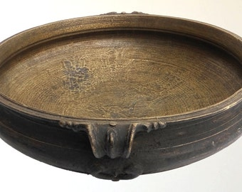 Antique Urli South Indian Cooking Pot Bronze Vessel Large Size