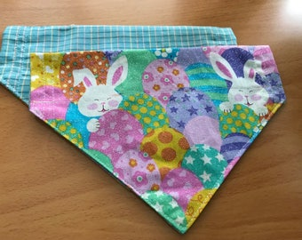 Sparkly Bunnies and Eggs Pet Bandana