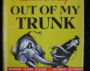 Milton Berle's Fabulous Fun-tasy Out of My Trunk - hardcover published in 1945