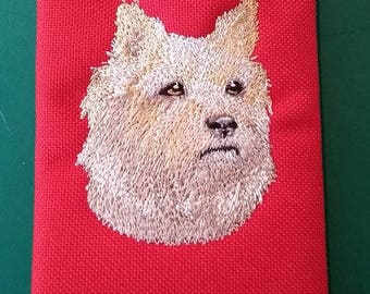 Embroidered Cairn Terrier Wallet