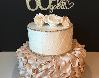 60 cake topper Etsy