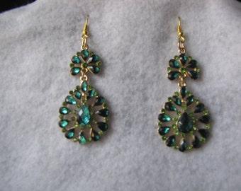 Earrings, beaded jewelry, handmade jewelry, Jewelry,  beaded earrings