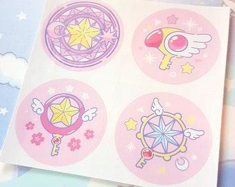 Magical Keys Sticker Sheet