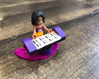 Piano Girl Friends Custom-made Minifigure