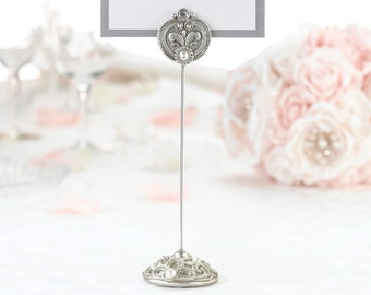 Table Markers Regal Elegance Vintage Inspired Pearl Accents Sold in sets of 4