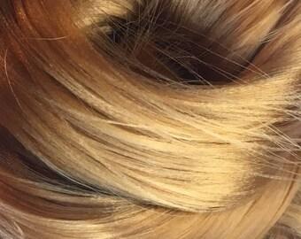 Treacle Toffee Nylon Doll Hair